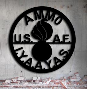 usaf-air-force-ammo up north sign
